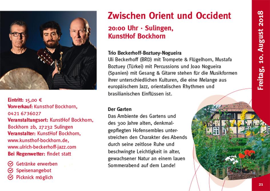 KunstHof Bockhorn Aktuelles